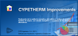 CYPETHERM Improvements